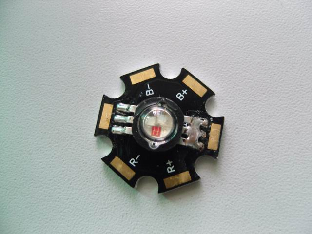 RGB Power LED 3W Three Legs